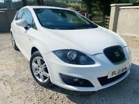 🔥 2012 SEAT LEON 1.6 TDI WHITE MANUAL LOVELY CAR 🔥