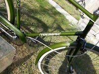 vintage bicycle 100% original classic triumph, classic bicycle, retro bike, brooks seat saddle