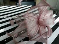 Dusky Pink Fascinator