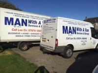 Man with a van services& storage