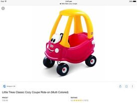 Little tikes cosy coupe
