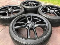 "18"" BMW Mini One Cooper S JCW GP Style Refurbished Alloy wheel & tyres 4x100"