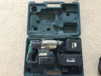 drill + 2 batteries + charger + box free local delivery
