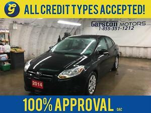 2014 Ford Focus KEYLESS ENTRY*MICROSOFT SYNC*AM/FM//CD/AUX/USB/B