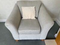 2 Seat Sofa & 1 Armchair