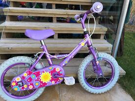 Opollo Sweetpea 14inch kids bike