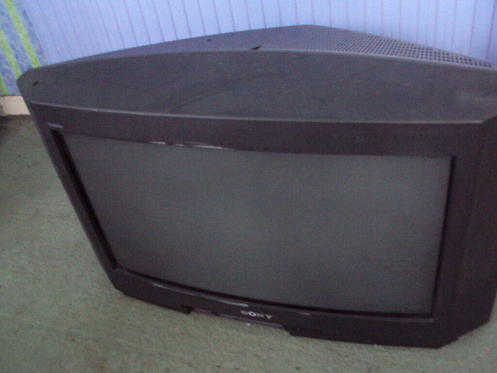 Sony widescreen 24 inch cathode ray tube TV to give away free of charge