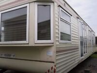 Willerby Vogue FREE DELIVERY 38x12 dbl glazed central heated 2bedrooms 2bathrooms top of the range