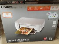 Pixma MG3650 white colour printer
