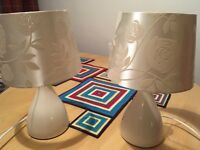 Set of Table/Bedside Lamps