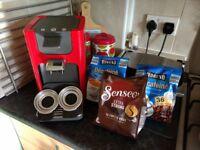 Philips Senseo Coffee Machine & 108 Coffee Pads