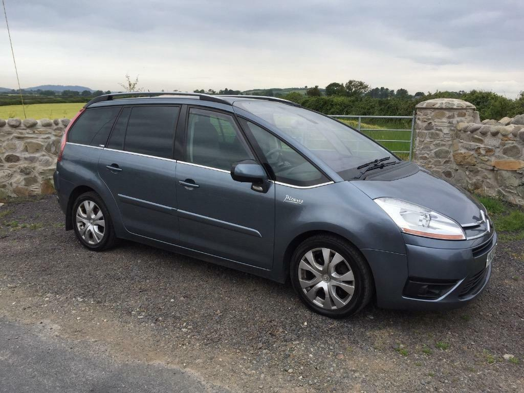 2008 citroen c4 grand picasso 2 0 hdi exclusive auto diesel 7 seater full year mot service. Black Bedroom Furniture Sets. Home Design Ideas