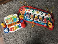 Vetch sing and discover piano and fisher price piano