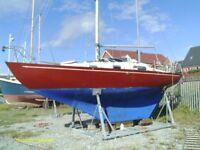 Sailing Boat, Contessa 26 Sailing Cruiser