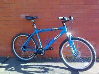 Carrera Kraken Mountain ,City Bike -Lightweight aluminium frame , front suspension , seat suspension