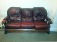 3 Piece suite, 3 seater, 2 seater and single chair
