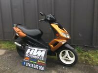 2008 Peugeot speed fighter 2 50cc moped