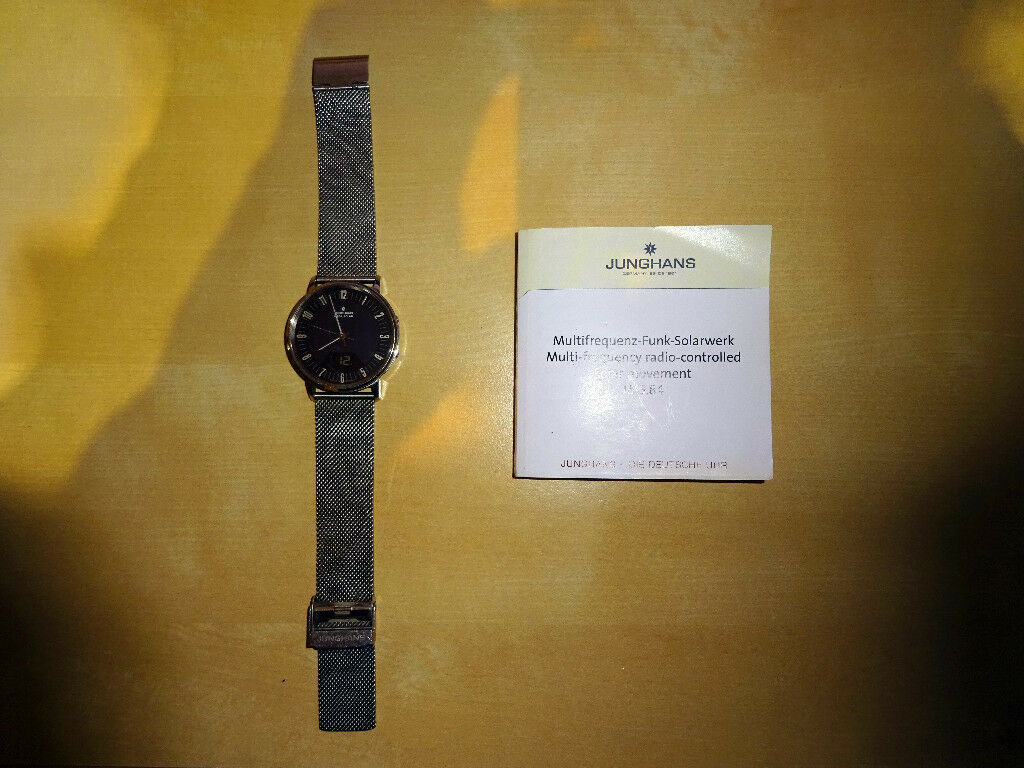 Junghans Radio Controlled Solar Watch