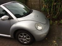 Beetle Convertible 1.6l petrol with Alloys and Full Black Leather