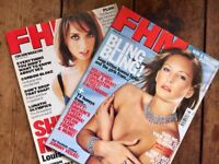 FHM Magazine Collection of 60 Back Copies 1996/2002 Highest Bidder