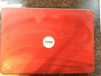 Dell Laptop (red)
