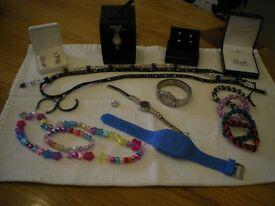 ladies and children's costume jewellery