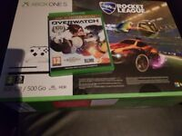 Xbox one S+ 2 games