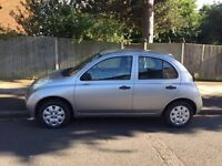 Nissan Micra S, 1.3 litre for sale, very low mileage, service history, MOT, drives nice.
