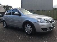 Vauxhall CORSA silver