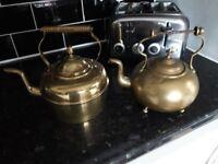 Brass kettles