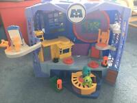 Imaginext Monsters Inc Playset