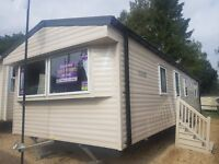 Sited Static Caravan For Sale, 12ft, 2Bed, Co Durham, 12month, DG,CH, Stanhope Wolsingham Frosterly