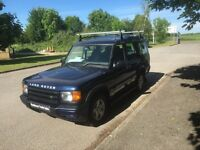 LAND ROVER DISCOVERY 2 2.5 Td5 GS 5dr (7 seat) Auto (blue) 2001