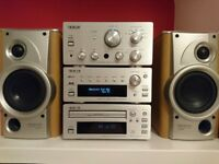 Teac A-H300 amplifier DAB radio cd player and speakers for sale