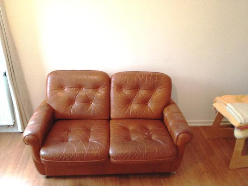 Vintage leder couch 60 jahre in k ln zollstock ebay for Couch 60 jahre