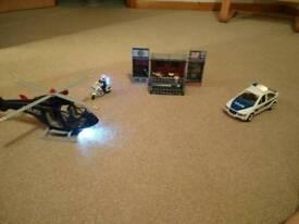 Playmobil police and jail set