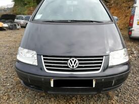 VW Sharan 2005 Black - For parts only!
