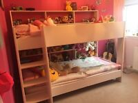 Unisex Bunk Bed with mattresses. To be Dismantled and collected from Elrick.