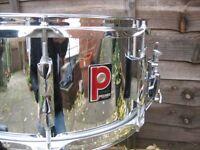 "Drums - Premier 1006 14"" x 6.5 "" Snare Drum - Amazing"