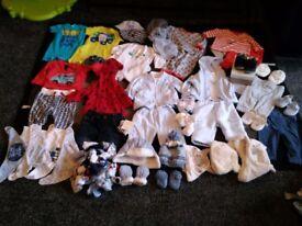 Baby boy bundle from birth -3-6mths ml5
