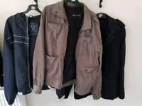 3 mens jackets. Next M&S Urban Vintage