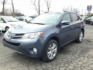 2013 Toyota RAV4 LIMITED + 4X4 + CUIR + BLUETOOTH
