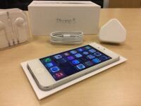 Boxed White Apple iPhone 5 16GB Factory Unlocked Mobile Phone + Warranty