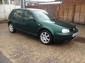 Volkswagen Golf 1.6SE Mot til May17 2 owners from new