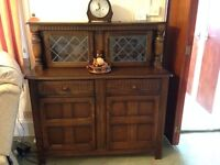Priory dresser and drinks cabinet