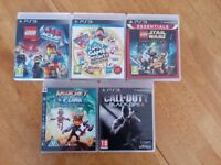 LEGO Star Wars Call of Duty Black Ops II Hasbro Family Ratchet & Clank Adventure Time Finn PS3 GAMES