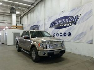 2011 Ford F-150 SuperCrew Lariat W/ Ecoboost, 4WD, Leather