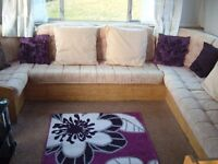Large 2bedroomed Mobile home to let with lovely views on the edge of a farm with barn