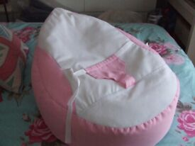 RUCOMFY Baby Bean Bag Pink Girl Never Been Used Smoke Free Home