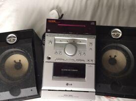 Compact cd radio hi fi system